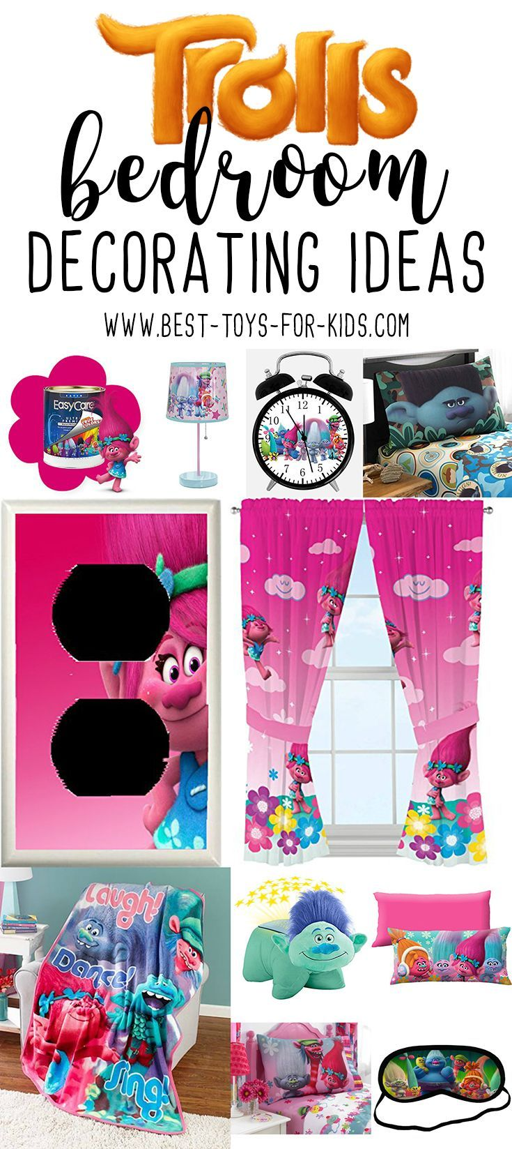 Trolls Bedroom Ideas: 17 Best Ideas About Girls Bedroom Purple On Pinterest