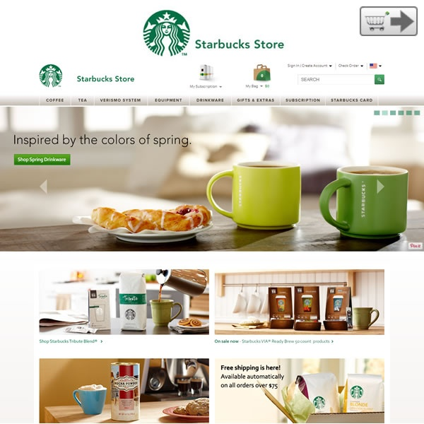 Starbucks | Online stores for Flowers and gifts