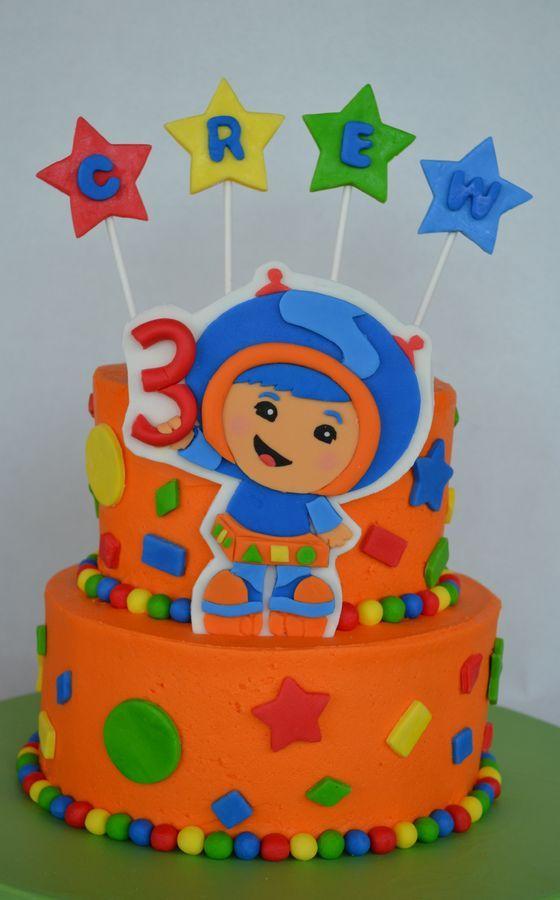 Umizoomi Birthday Cake