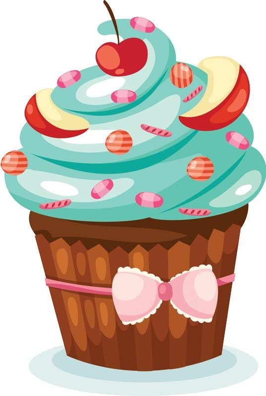 Delicious Cake Clipart : 52 best images about cup cake on Pinterest Clip art ...