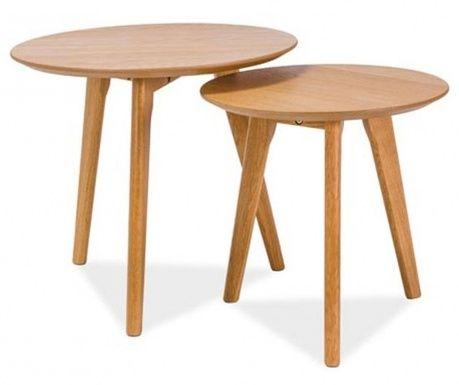 Astrid Round 2 db Kávézóasztal - Vivre