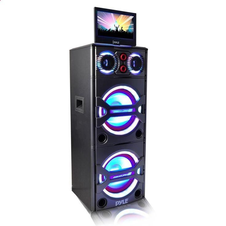 Pyle Bluetooth Karaoke Entertainment Audio/Video System