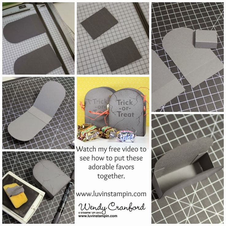 It's a Grave Favor - Wowza Wednesday #9 - Luvin Stampin