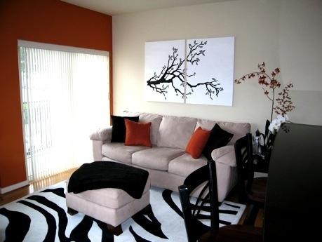 Living Room After Bold Zebra Rivalee Design