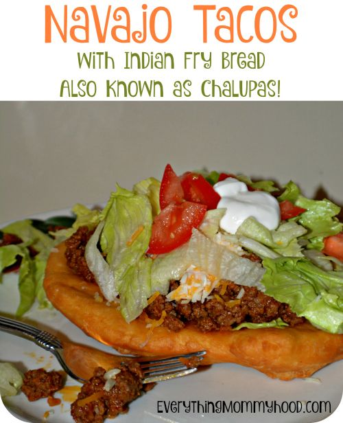 Chalupas!  The fried bread portion is SO easy to make! Nowhere near as complicated as I had thought.