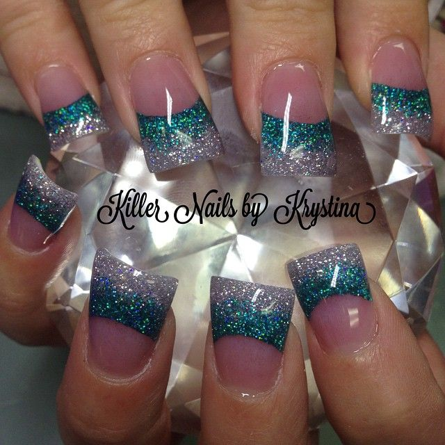 Instagram photo of acrylic nails by killer_nails_by_krystina
