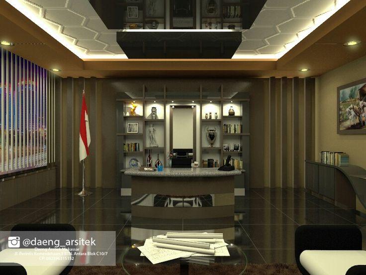 Coklat bisa mewakili suasana ruangan menjadi jauh lebih elegan