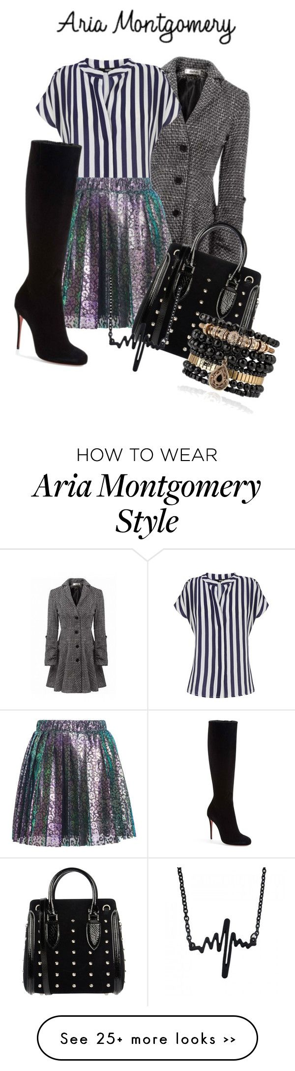 """""""Aria Montgomery (PLL)"""" by martinastoessel04 on Polyvore"""