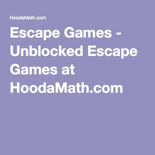 Escape Games - Unblocked Escape Games at HoodaMath.com