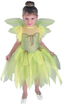toddler tinkerbell costume | Amazon.com: Tinkerbell Costume for Kids - Large: Clothing