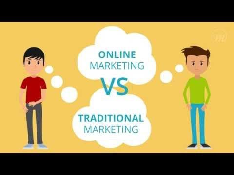 Online Marketing Vs Traditional Marketing  www.medialabs.in  #Seo #SocialMediaMarketing #Branding #Marketing