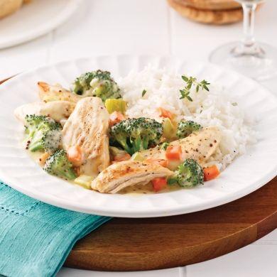 Casserole de poulet et brocoli - Recettes - Cuisine et nutrition - Pratico Pratique
