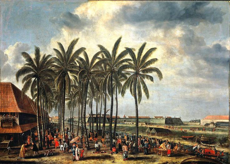 Andries-Beeckman---The-Castle-of-Batavia This Day in History: Mar 20, 1602: Dutch East India Company founded http://dingeengoete.blogspot.com/