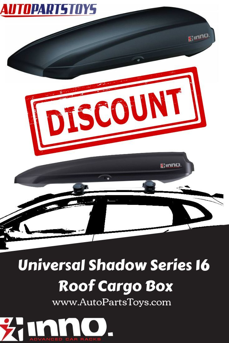 Universal Shadow Series 16 Roof Cargo Box Bra1250ca By Inno Roofcargobox Innorack Roofbox It S Unique Base Construction Is St Roof Box Roof Rack Roof