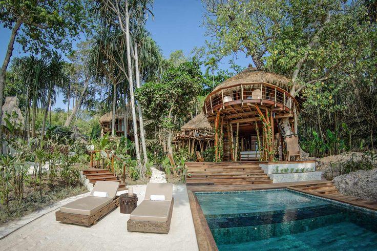Mamole Tree House | 3 bedrooms | Sumba, Indonesia #exterior #design #swimmingpool