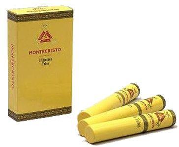 Montecristo Edmundo Tubos - 15 cigars (packs of 3) for $169.00, a Cuban Montecristo cigar from Habanos   CigarTerminal.com