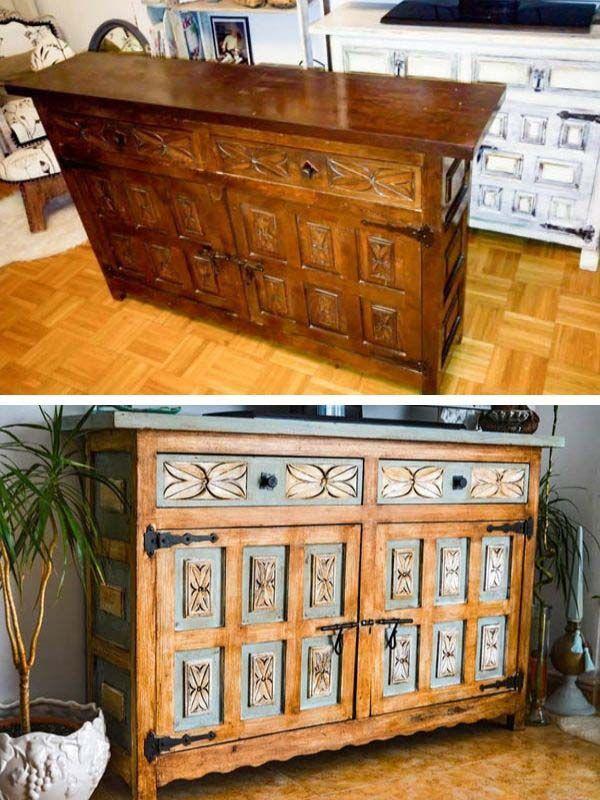Dresser Makeover With Chalk Paint Furniture Makeover Decorhomeideas Diy Furniture Renovation Furniture Makeover Diy Furniture Makeover