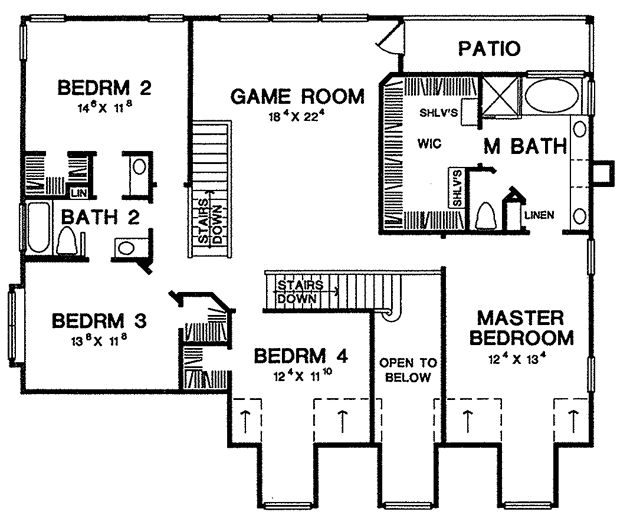 Father of the bride house plan for Father of the bride house plan