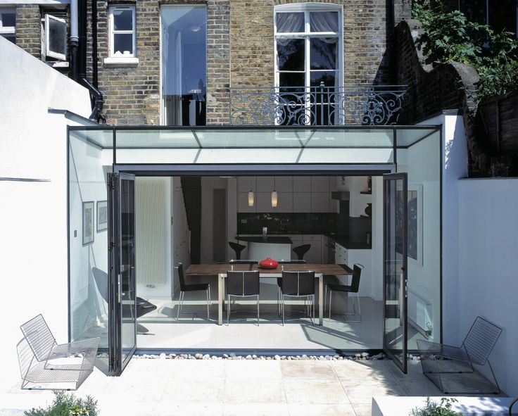 Glazed Roof Extension