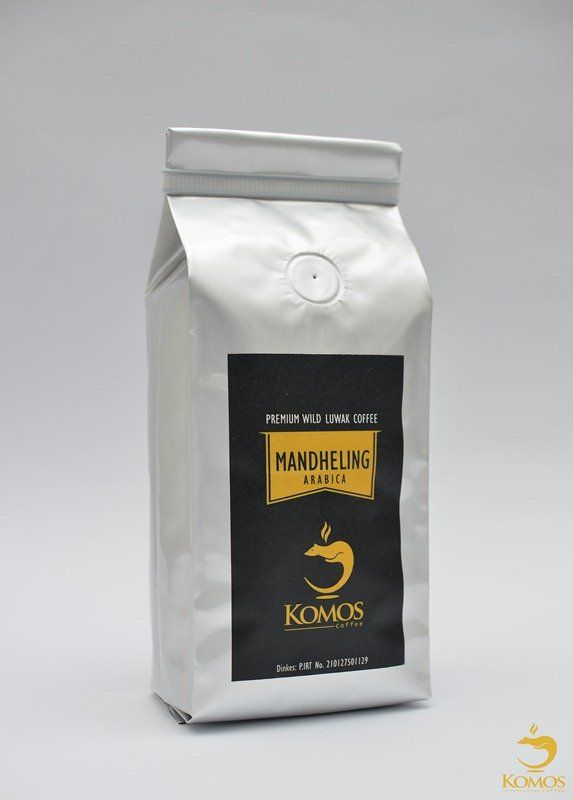 Luwak Mandheling Gourmet Coffee, 100% Arabica Aceh Sumatra Luwak Coffee from Indonesia, 250gr
