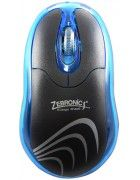 Zebronics Petal Blue Wired Optical Mouse