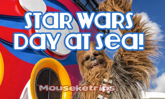 For 2018, Disney Cruise Line is bringing back the popular Star Wars Day at Sea for 15 select Disney Cruises on the Disney Fantasy.
