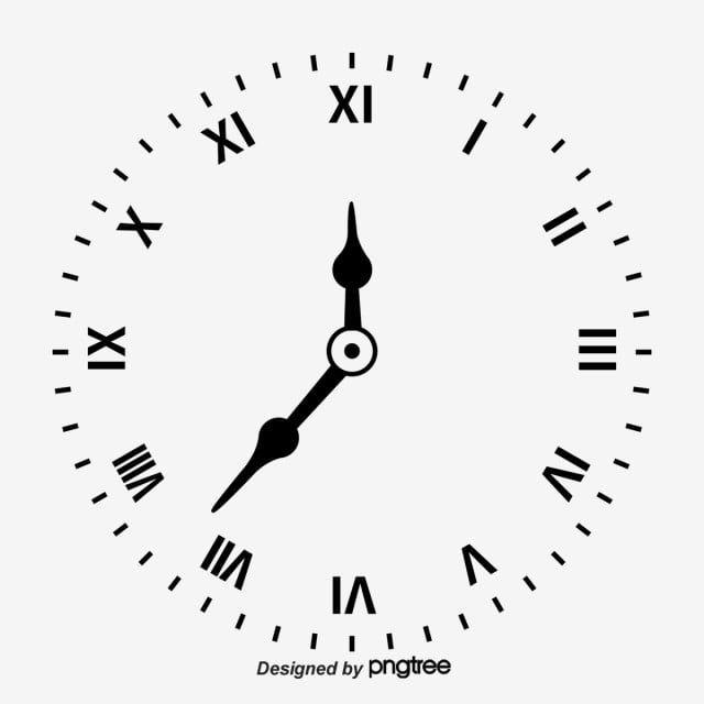 ساعة حائط الساعة أسود راقب Png وملف Psd للتحميل مجانا Clock Png Clip Art