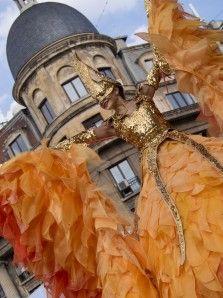 B-FIT IN THE STREET - International street theater festival - Bucharest 2016 -Golden Angel & Sol (Germania)