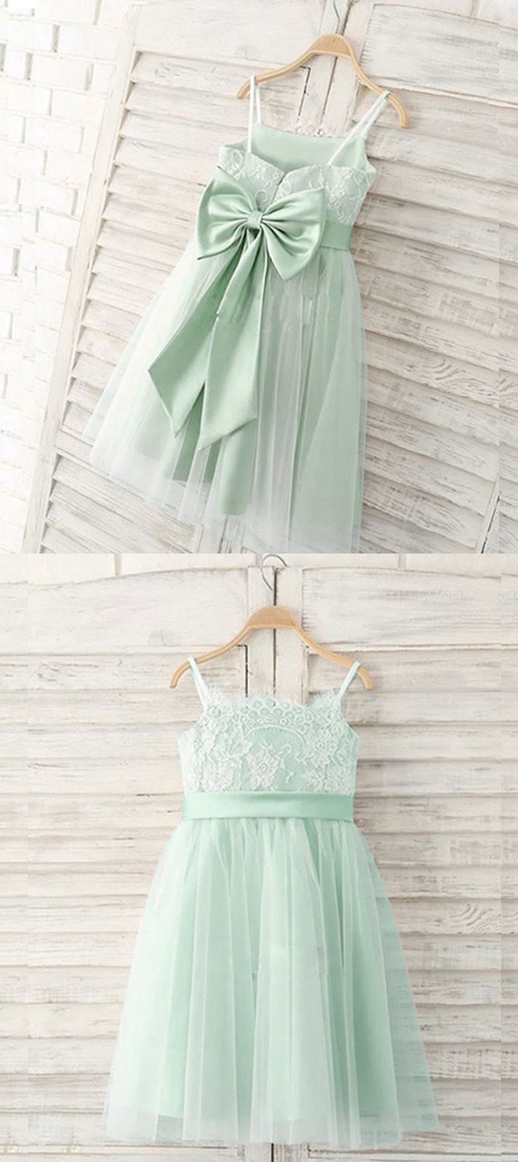 Girl Dresses,Lace girl dresses,little girl dresses,mint dresses   #girldresses