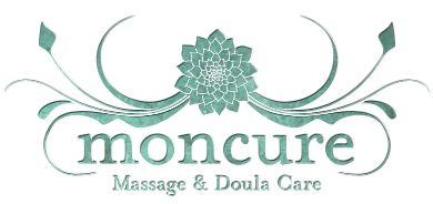 Moncure Massage & Doula Care. I like the color scheme.