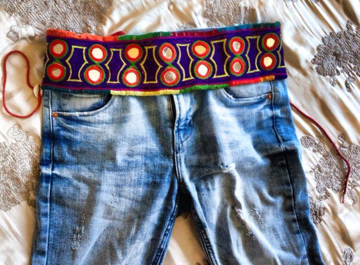 #Cinturon #etnico #hippie #handmade Venta en hippie holi shop  Contacto facebook: hippie holi shop  Instagram @hippieholi