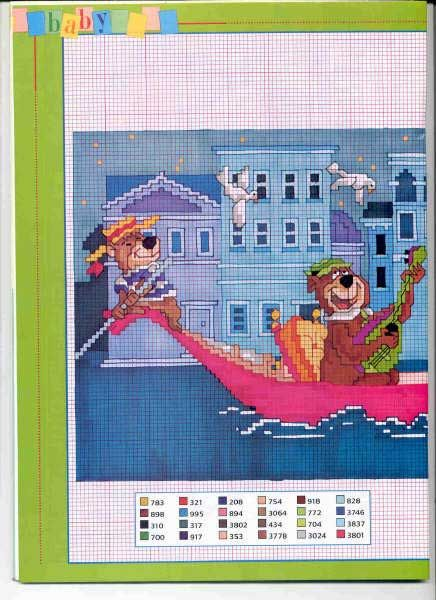 22 Best Images About Cross Stitch Yogi Bear On Pinterest