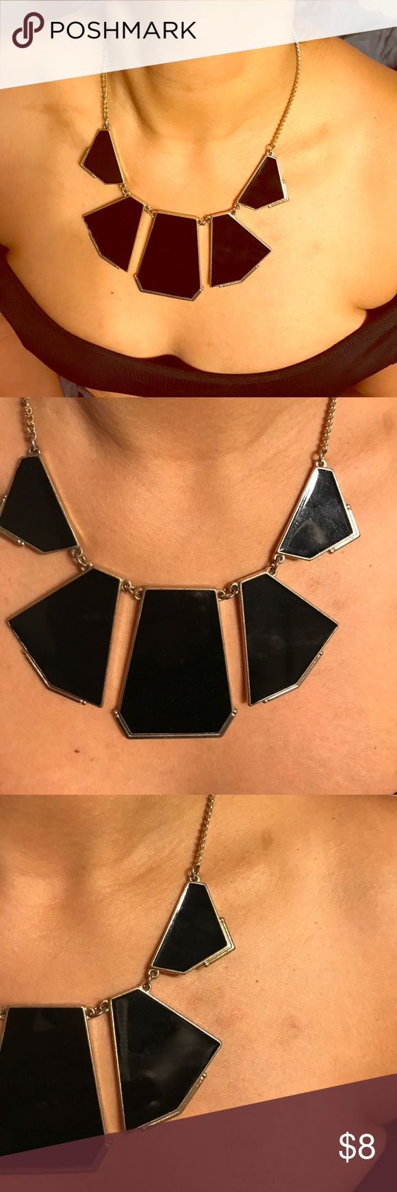 Black and Gold accent necklace Black and Gold Accent Necklace Accessories