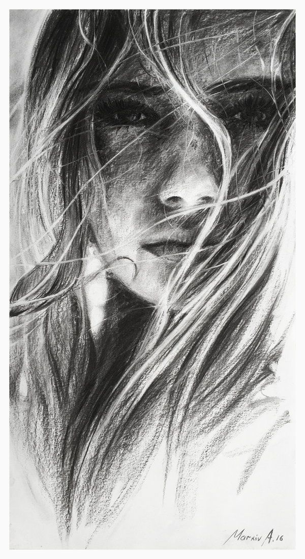 girl.charcoal.indie by AndriyMarkiv on DeviantArt