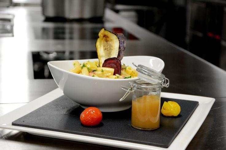 Typically Swiss food: Älplermagronen :-) #restauranttaverne #hotelinterlaken #swiss