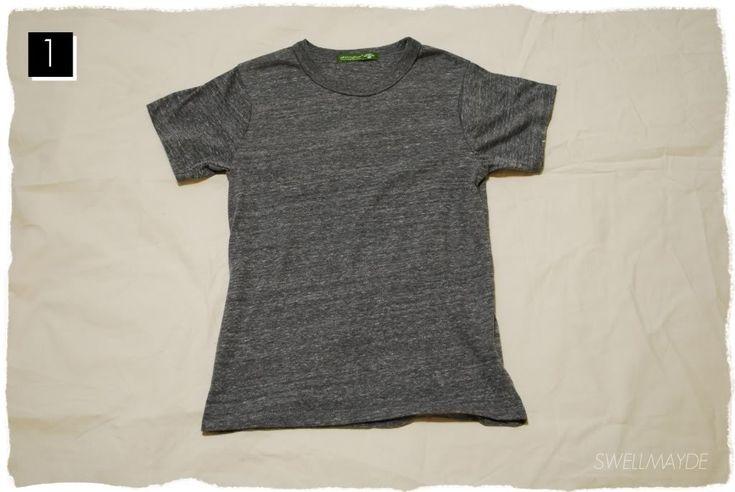 swellmayde: DIY fringe t-shirt   foam mag + alternative apparel workshop