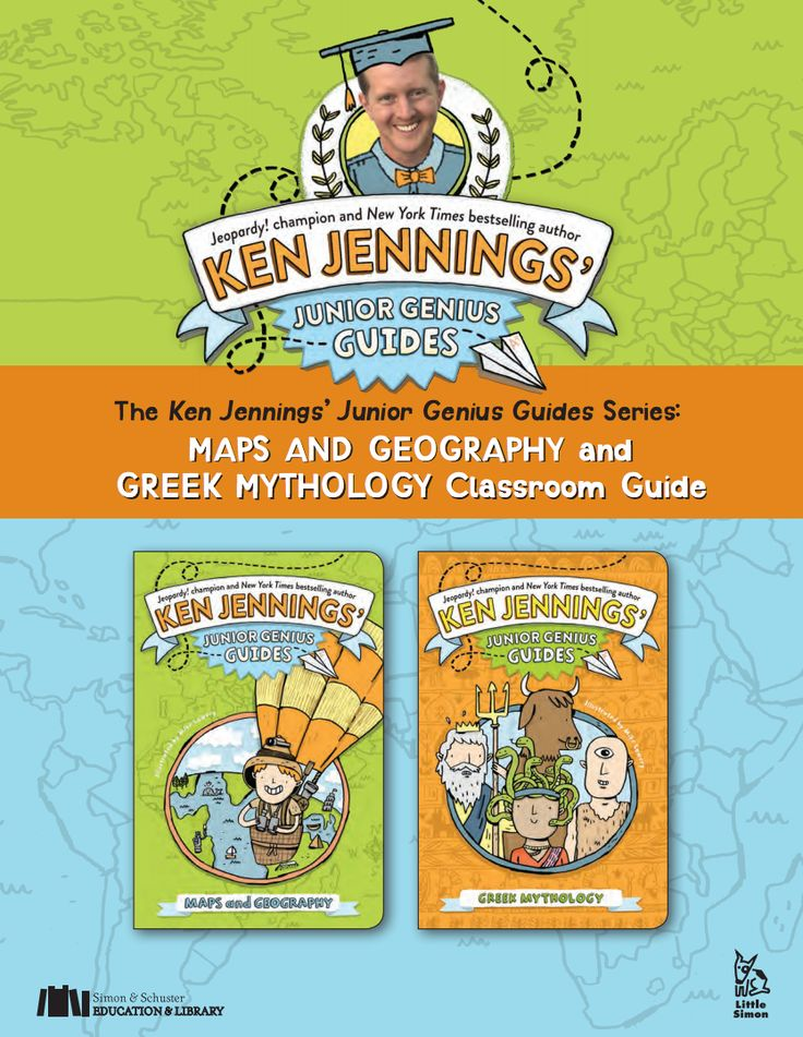 Hold a Junior Genius Jeopardy! Game in your classroom. This printable classroom guide to Ken Jennings' Junior Genius Guides Series: Maps and Geography and Greek Mythology includes game questions, true/false quizzes, multiple-choice, and Common Core-aligned activities for writing and reading informational text. (Grades 3-5) | TeacherVision