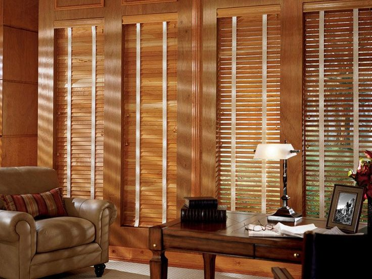 persiana de madeira para sala