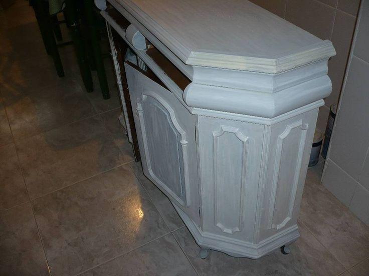 17 mejores ideas sobre muebles antiguos en pinterest - Pintar muebles viejos ...