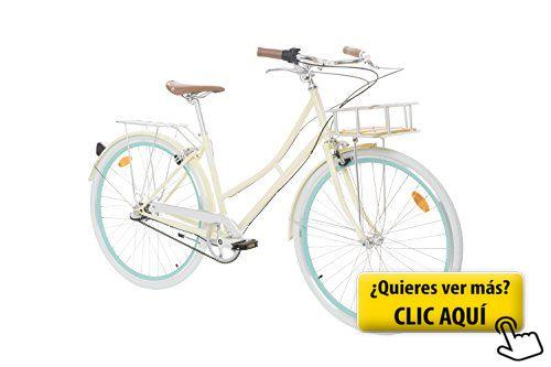 Fabric City Bicicleta de Paseo- Bicicleta de Mujer... #bicicleta