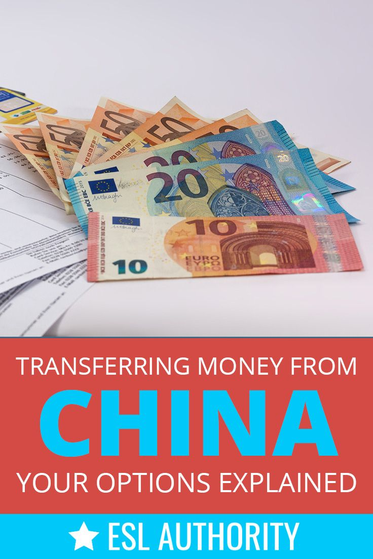 Transferring Money From China Your