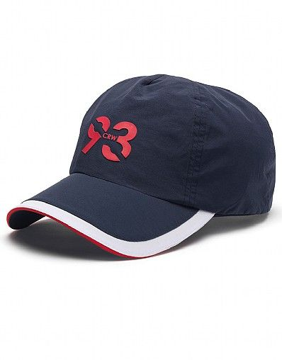 Crew Clothing Crew Club Cap in a water resistant nylon and with an adjustable back strap concealed under the sweatband. a sporty summer staple. 100% nylon do not wash http://www.MightGet.com/april-2017-2/crew-clothing-crew-club-cap.asp