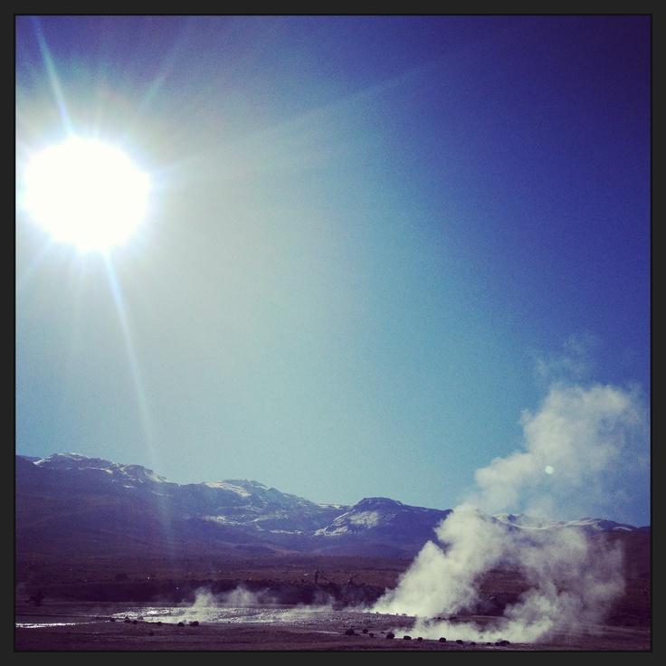 Geiser del Tatio, región de Atacama, Chile.
