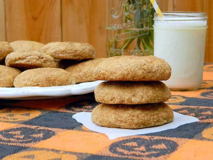 Pumpkin Spice Cookies (24 lg) - Cream 1 c br sugar, ½ c butter, ½ c ...