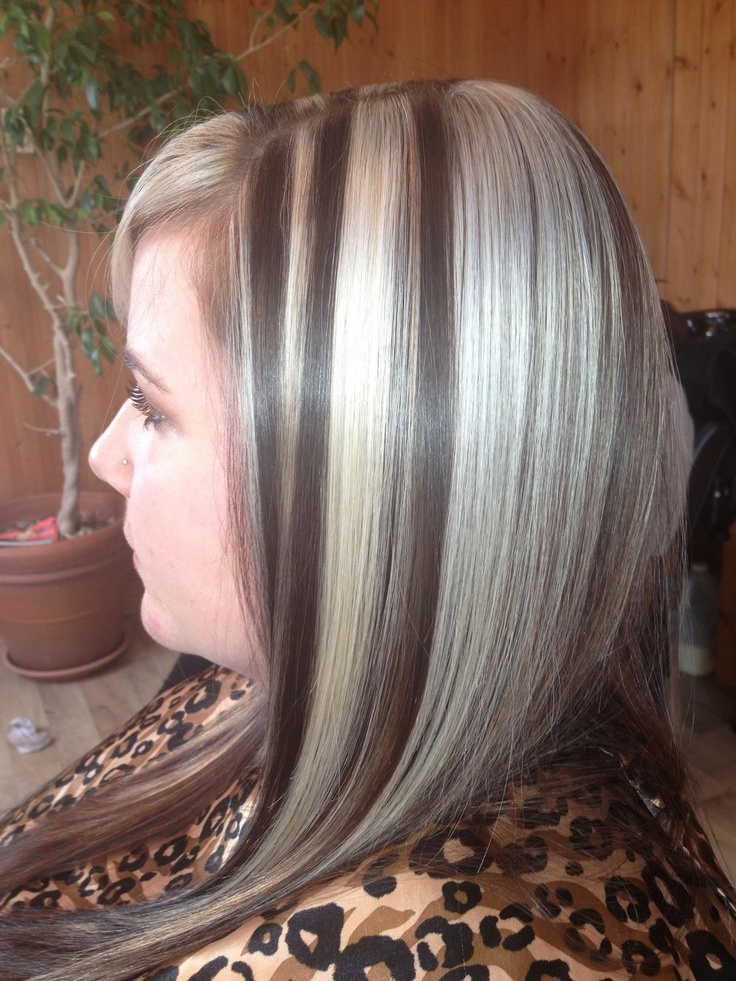 Brown With Blonde Foils Pretty Transexual