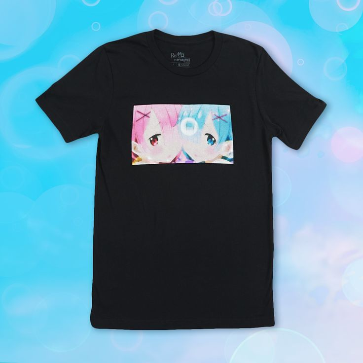 Re:Zero Rem & Ram Sweetheart T-shirt – CR Exclusive
