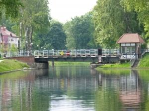 Most obrotowy w Giżycku. Fot. RMF FM