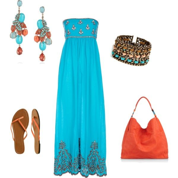 summertime: Purse, Coral Colors, Summertime Outfit, Color Combinations