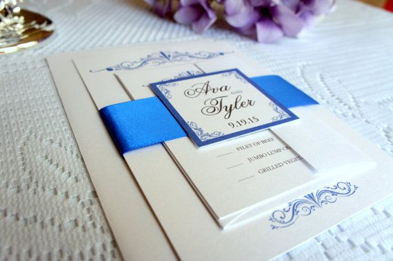 Wedding Invitation Designs Royal Blue: 25+ Best Ideas About Royal Blue Weddings On Pinterest