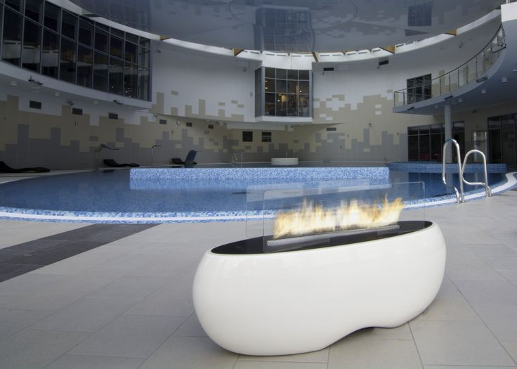 ZEN is a cosy, ellipse-shaped fireplace with a beautiful line of fire. Being made of the highest quality materials it is a perfect solution for both traditional and modern interiors.  http://www.biofireplaces.com/